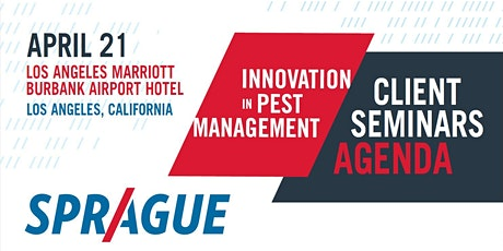Innovation In Pest Management 2020-Los Angeles tickets
