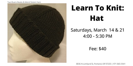Learn To Knit: Hat tickets