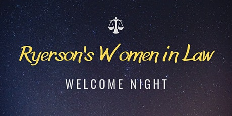 Welcome Night tickets