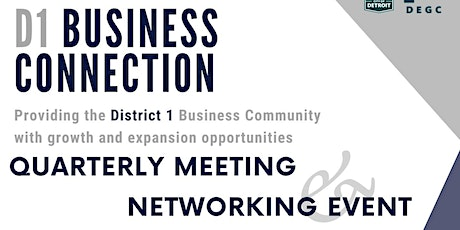 District 1 Quarterly Meeting and Networking Event tickets