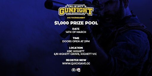 CALL OF DUTY $1K QUICKSAVE CUP