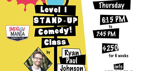 Stand Up Comedy Level 1 tickets