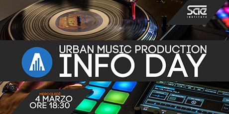 Info day Urban Music Production biglietti