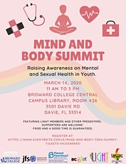 Mind and Body Teen Summit  tickets
