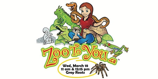 Zoo to You at Grey Roots!