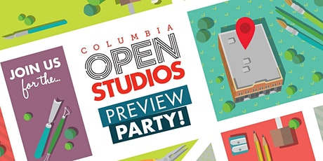 Columbia Open Studios 2020 Preview Party tickets