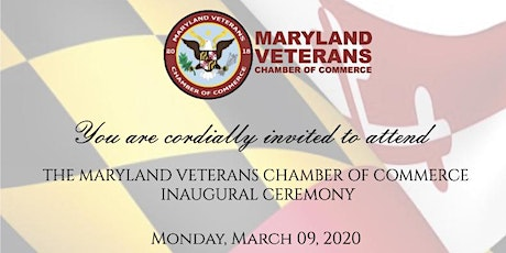 Maryland Veteran Chamber of Commerce Inaugural Ceremony tickets