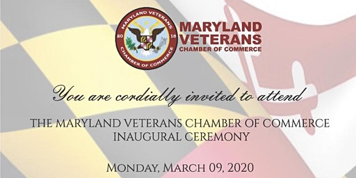 Maryland Veteran Chamber of Commerce Inaugural Ceremony