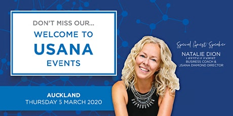 Welcome to USANA - Auckland tickets