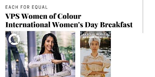 2020 VPS Women of Colour Network International Women's Day Breakfast