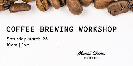 Coffee Brewing Workshop tickets