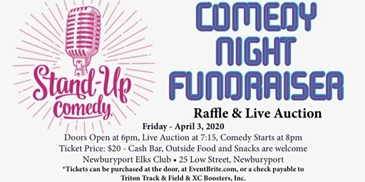 Comedy Night Fundraiser for Triton Track & Field & XC Boosters, Inc.