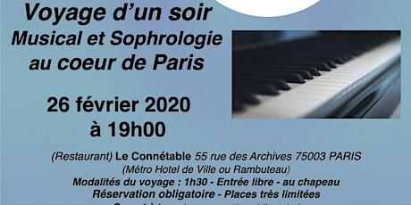 Voyage musical et sophrologie billets