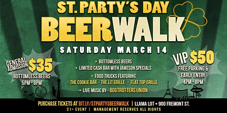 St. Party's Day Beer Walk tickets