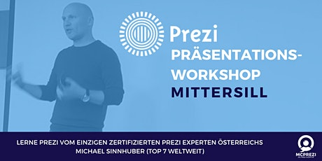 PREZI Präsentations-Workshop - Mittersill - Prezi Experte Michael Sinnhuber tickets