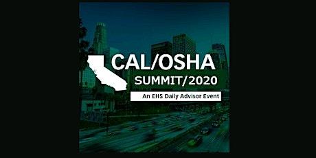 Cal/OSHA Summit 2020 (ahm) S tickets