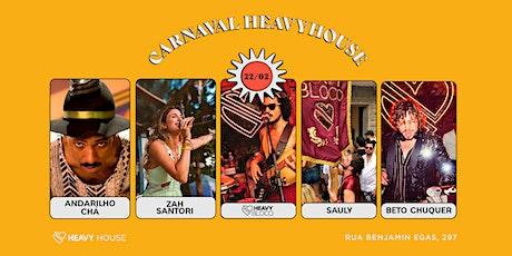 Carnaval HH :: Heavy Bloco part. Zah Santori e Andarilho Cha, Beto Chuquer ingressos