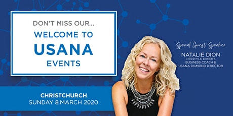 Welcome to USANA - Christchurch tickets