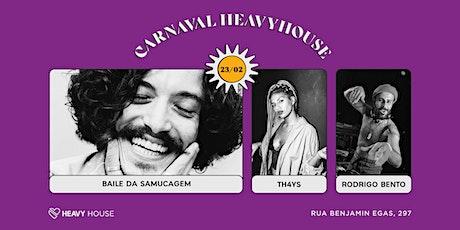 Carnaval HH :: Baile da Samucagem com DJ Set de Rodrigo Bento e Th4ys ingressos