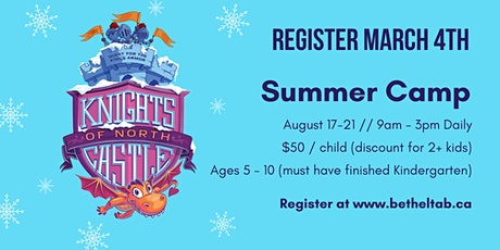 Bethel Kids Summer Camp 2020 tickets