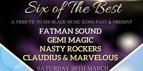 Six of the Best - A Tribute to Six Black Music Icons Past & Present tickets