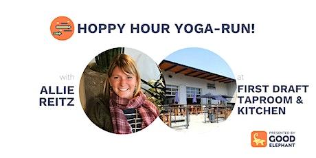 Hoppy Hour Yoga-Run! tickets