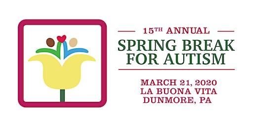 15th Annual Spring Break for Autism Fundraiser