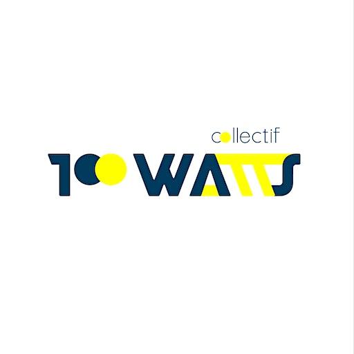 Collectif 100 Watts logo