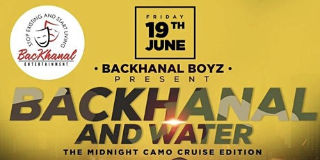 BacKhanal and Water Pre- Fathers Day CAMO Boatride tickets