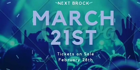 BROCK - 21st March tickets