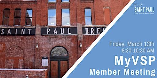 MyVSP: March Member Meeting