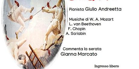Concerto del pianista Giulio Andreetta a Mirano biglietti