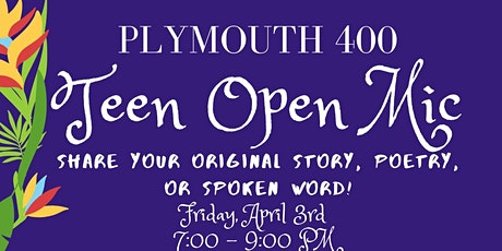 Your Voice Matters: Plymouth 400 Teen Open Mic tickets