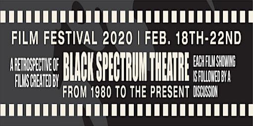 Black Spectrum Theatre Co. Film Festival 2020