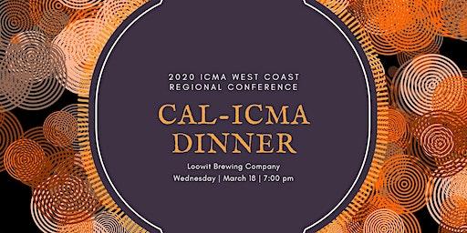 ICMA West Coast Regional Conference Cal-ICMA Dinner