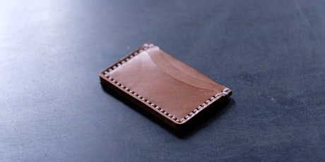 Leather Wallet Workshop - February 29 tickets