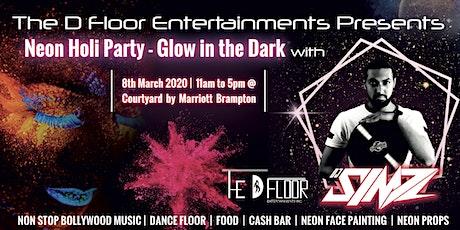 Neon Holi Party - Glow in the Dark with DJ SIMZ tickets