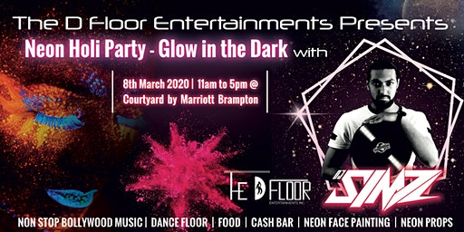 Neon Holi Party - Glow in the Dark with DJ SIMZ