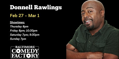 Donnell Rawlings from the Chappelle Show LIVE at the Comedy Factory! tickets