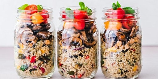 Whole Grain Quinoa Shaker Salad