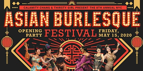Asian Burlesque Festival Opening Party 2020 tickets