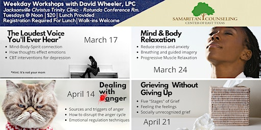 Weekday Workshops with David Wheeler (Jacksonville)