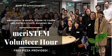 meriSTEM Volunteering Hour - March 2020 tickets