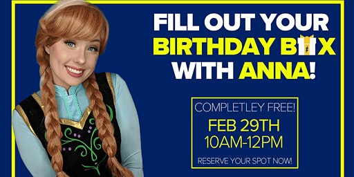 Create a Birthday Box with Anna -FREE