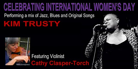 Kim Trusty with Cathy Clasper-Torch tickets
