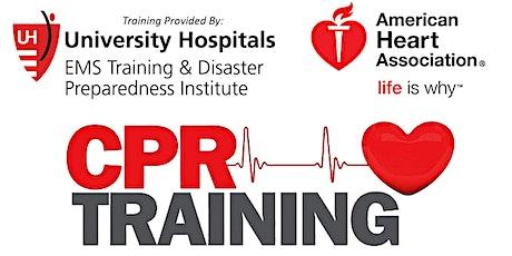 FREE Community CPR Training | Bainbridge | Geauga County Public Library tickets