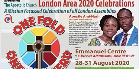 The Apostolic Church,  London Area Celebrations - August 2020 tickets