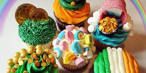 St. Patrick's Day-Themed Cupcake Decorating Class