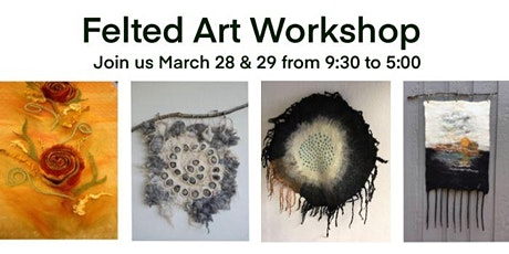Felted Wall Hanging Workshop tickets