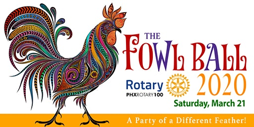 The Fowl Ball 2020, A Party of a Different Feather!
